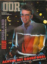 MAGAZINE OOR 1983 nr. 02 - MECANO/POISON GIRLS/POP IN RUSLAND/HET GOEDE DOEL