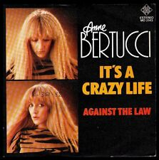 "ANNE BERTUCCI - SPAIN 7"" TELEFUNKEN 1983 - IT'S A CRAZY LIFE - SINGLE 45 RPM"