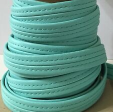 Marine Hidem trim color Aqua- HIDES STAPLES boat, upholstery and craft by yard