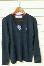 JACK MURPHY LADIES KATIE SWEATER, COLOUR HERITAGE NAVY, SIZES 16,18,BNWT
