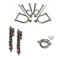 LSR Lone Star Sport +2+1 A-Arms Elka Stage 5 Front Shocks Kit Yamaha Banshee 350