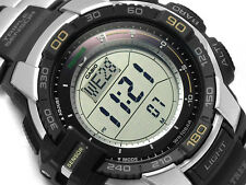 MEN'S CASIO PRG270D-7 TRIPLE SENSOR TOUGH SOLAR WATCH