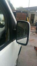 DISPATCH EXPERT SCUDO E7 TAXI DRIVER SIDE WING MIRROR WITH WHITE COVER 07-12