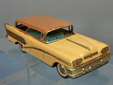 VINTAGE  TINPLATE  FRICTION  BANDI MODEL OF A BUICK CENTURY STATION WAGON