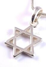 Star Of David Magen Judaica Necklace Kabbalah Gold Pendant Jewish Israel