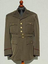 US Army Class A Officer Service Uniform Jacket Dark OD Chocolate WK2 WWII L
