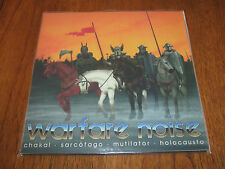 "VARIOUS ""Warfare Noise"" 2 X LP sarcofago chakal holocausto mutilator"