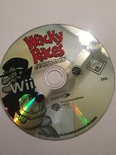 ORIGINAL NINTENDO Wii GAME CD DISC ONLY WACKY RACES CRASH & DASH
