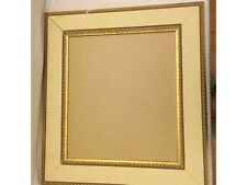 Large cream and gold picture frame 62 x 56cm
