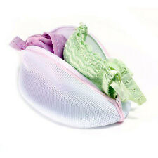 ~2 PACK LOT~ Washing Bag Cone Hosiery Bra Lingerie Mesh Bags Laundry Saver White