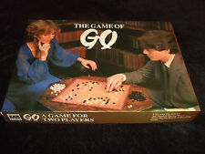 GO THE GAME OF GO--2 PLAYER STRATEGY GAME BY MICHAEL STANFIELD 1981