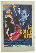2 Paks LA DOLCE VITA Federico Fellini Movie Small Italian-Made Blank NOTEPAD New