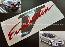 Evo 5 V Rear Boot Stickers Decals Ralliart Lancer Evolution FREE SHIPPING x 1