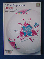 London 2012 Olymoic Games - Football Tournament Programme - 100 pages A4