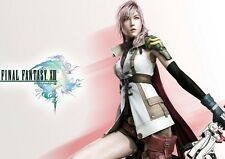 POSTER FINAL FANTASY 13 XIII LIGHTING SNOW VERSUS #14