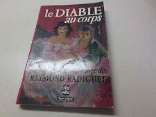 Le Diable au corps le chef d'oeuvre de Raymond Radiguet vintage paperback