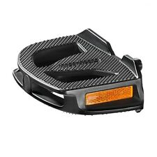 Humpert EP1 Ergonomic Flat Bicycle Pedals - Great for cycling in 'normal' shoes