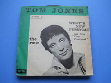 45 GIRI TOM JONES - THE ROSE - WHAT'S NEW PUSSYCAT?