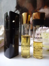 CHANEL No5  PRE REFORM EDT 10cm BLACK ENAMEL PURSE SPRAY AROUND 25-30ml in the 2
