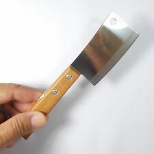 "Mini Chop Knife Blade 3"" Thai Chef's Knives KIWI Wood Handle Kitchen Stainless"
