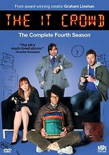 The IT Crowd Complete Fourth Season 4 Four DVD Set Series TV Show Comedy Episode