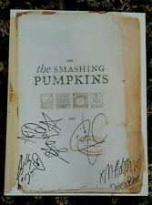 SMASHING PUMPKINS MACHINA CD PROMO AUTOGRAPHED / SIGNED POSTER! ENTIRE BAND 2000