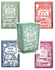 Anne of Green Gables 4 Book Boxed Set Anne of Green Gables,Avonlea,Island,Dreams