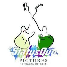 """STATUS QUO """"PICTURES 40 YEARS OF HITS (BEST OF)"""" 2 CD"""