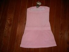 NWT Juicy Couture Light Pink Terry Tunic Size Petite P