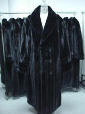 BRAND NEW BLACK MINK FUR COAT MEN UP TO 3XL