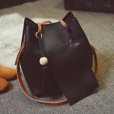 Women Lady PU Leather Handbag Shoulder Bag Tote Purse Messenger Satchel Hobo Bag
