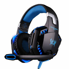 2016 EACH G2000 Gamer Gaming Headsets & Microphone Gamer Razer MSN Skype White