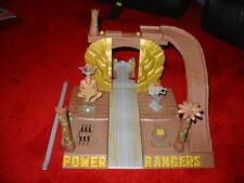 POWER RANGERS WILD FORCE DELUXE TEMPLE RUINS DX BASE TEMPLE  PLAYSET FOR FIGURES