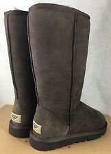 UGG Australia Classic Tall Sheepskin Boot Sand Chestnut Chocolate Black 5815