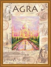 RIOLIS COUNTED CROSS STITCH KIT - CITIES OF THE WORLD. AGRA