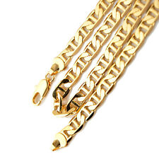 """Charms 18k Yellow Gold Filled Mens Necklace 24"""" Stud Chain 8mm link GF Jewelry"""