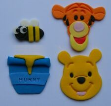 12 edible WINNIE THE POOH cake CUPCAKE topper DECORATION TIGGER bees HUNNY bear