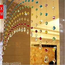 Acrelic Bead Rainbow Ark Curtain door partition home decoration shop hotel