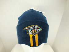 NASHVILLE PREDATORS NHL Hockey cuff Knit Beanie winter Hat toque New by Twins