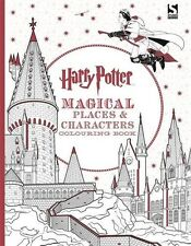 Harry Potter Magical Places und Zeichen Malbuch