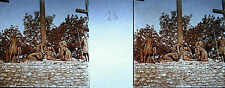 Photographie c1920 Chemin de croix des Espélugues Jésus descendu de la croix