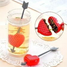 0Cupid Arrow Love Heart Tea Herb Leaf Filter Infuser Strainer Teaspoon valentine