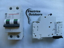 GENERAL ELECTRIC 20 AMP TYPE C 10 kA DOUBLE POLE MCB CIRCUIT BREAKER G102 674896