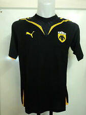 AEK ATHENS 2009/10 S/S HOME SHIRT BY PUMA ADULTS SIZE MEDIUM BRAND NEW WITH TAGS