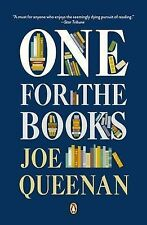 New ONE FOR THE BOOKS Joe Queenan PB BOOK