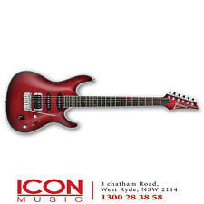 Ibanez SA360QM Electric Guitar, Transparent Red Burst NEW $999 rrp.