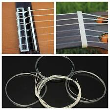 6Pcs Durable Nylon Silver Strings Gauge Set Classical Classic Guitar Acoustic