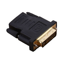 DVI 24+5 Pin Male to HDMI Female M-F Adapter Converter For HDTV LCD Monitor