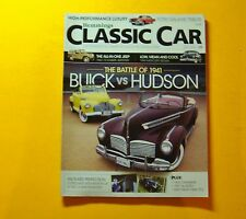 CLASSIC CAR BY HEMMINGS JULY/2010....THE BATTLE OF 1941: BUICK VS HUDSON..