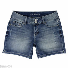 Victoria's Secret Stretch Jeans Shorts Hot Pants Gr. 34 / 36 US 4 Neu m. Etikett